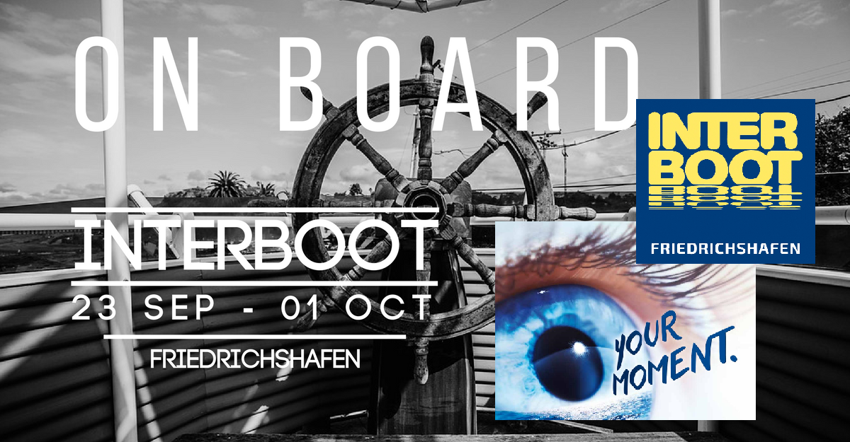 presentation on board for the interboot exibition germany
