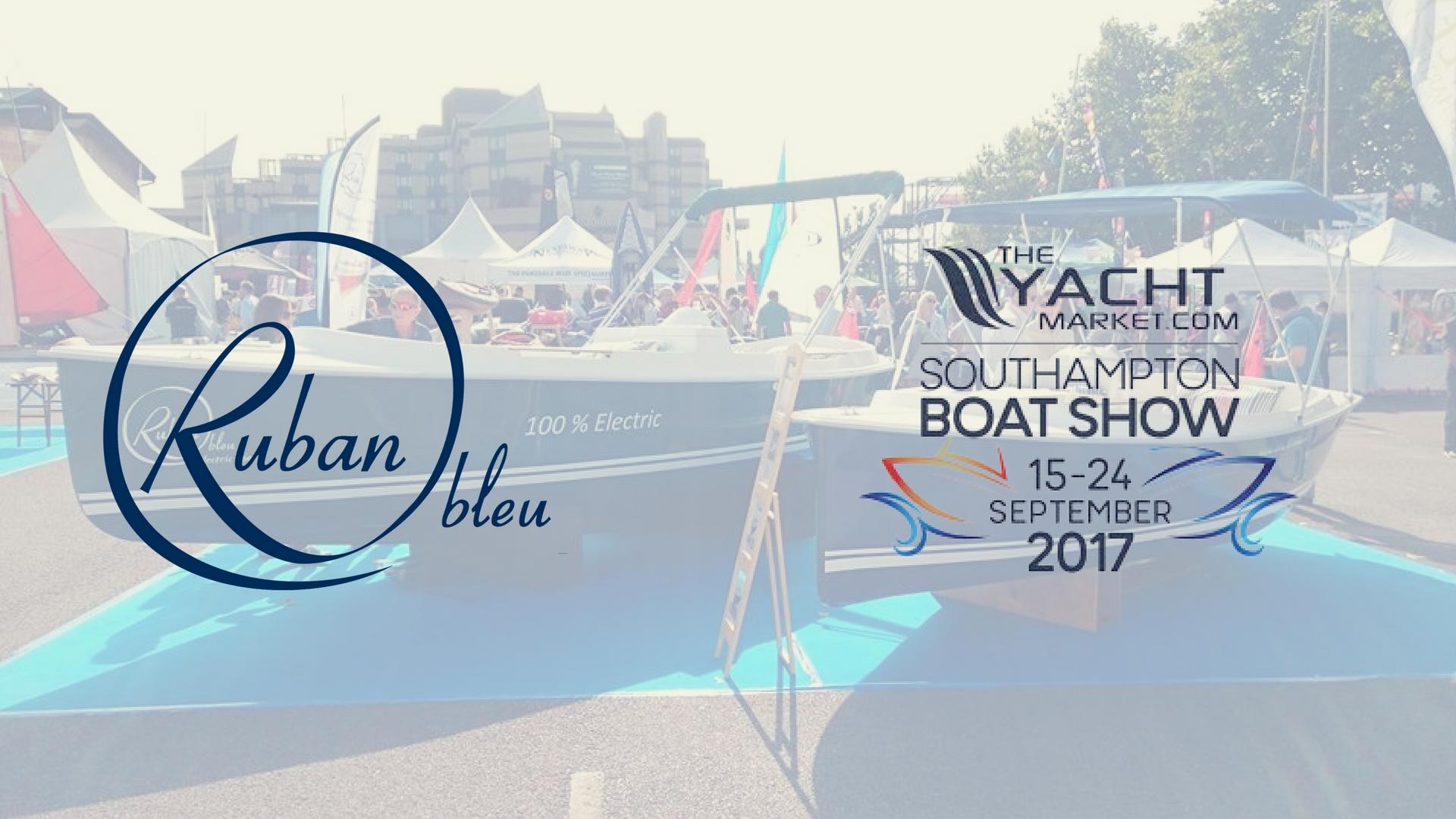 Ruban Bleu in southampton boat show