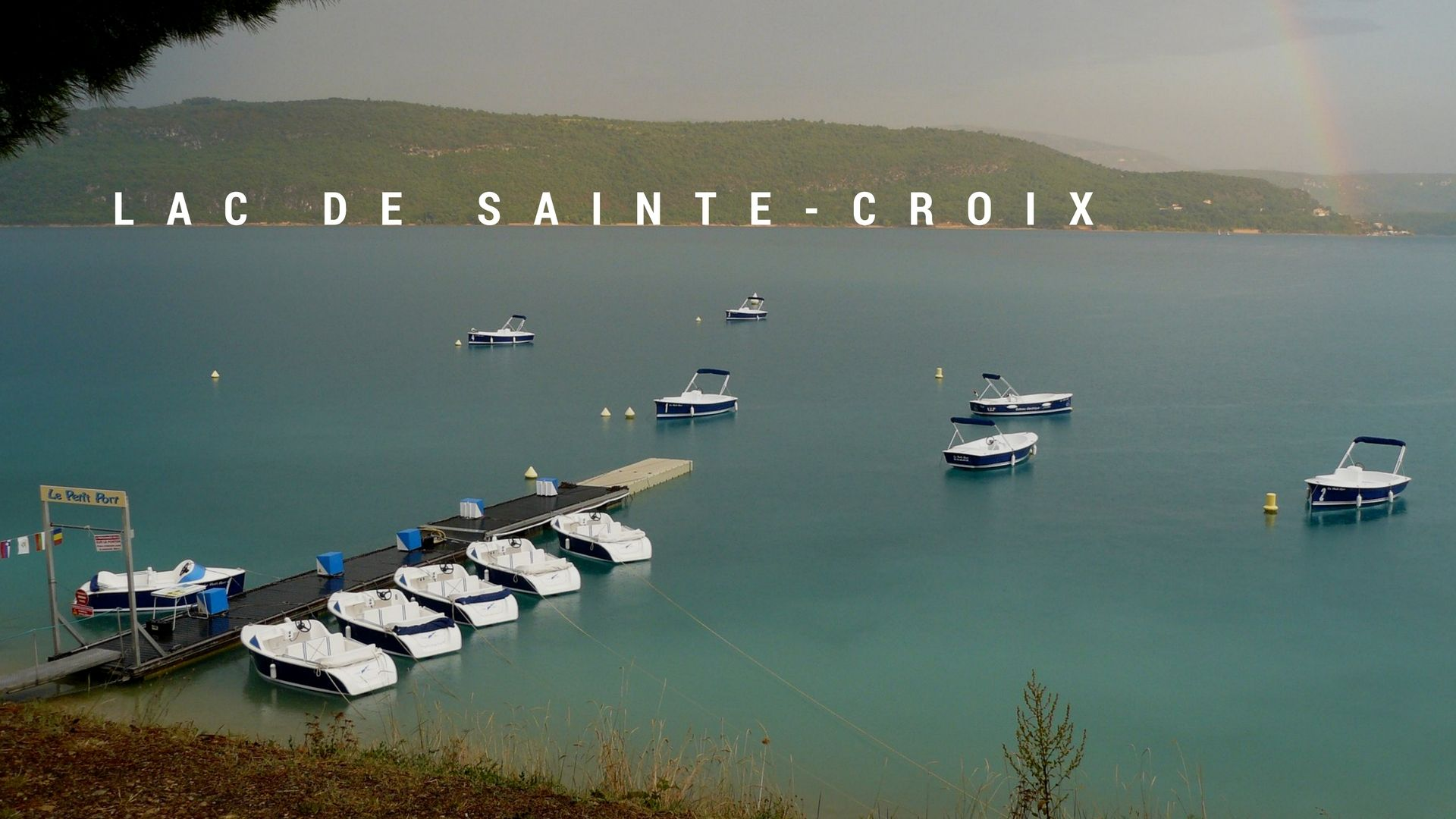 sainte croix lake electric boat
