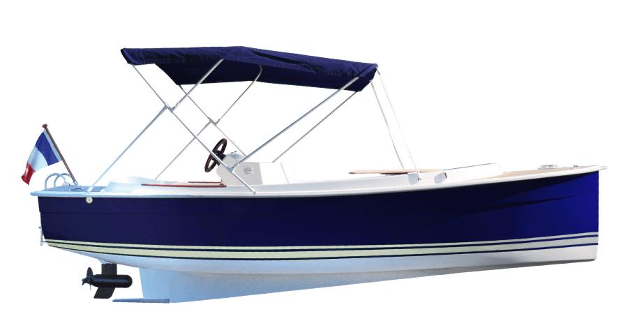 SCOOP plus bateau électrique luxe 7 places