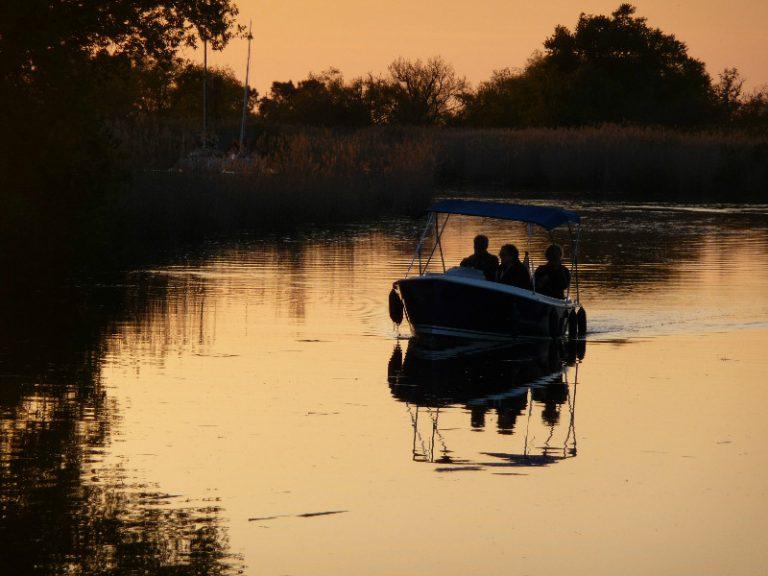Garonne en bateau électrique