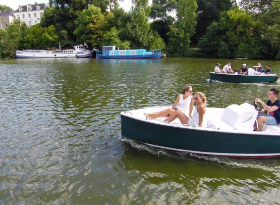 La loire en bateau électrique