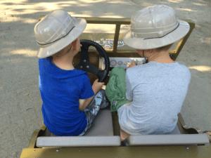 enfants voiture